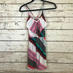 Roxy Striped Tie Back Dress